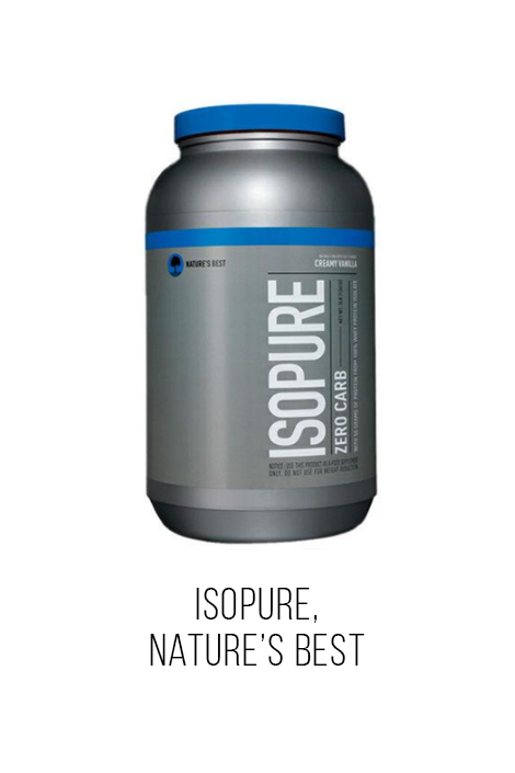 isopure nature´s best  shale proteina