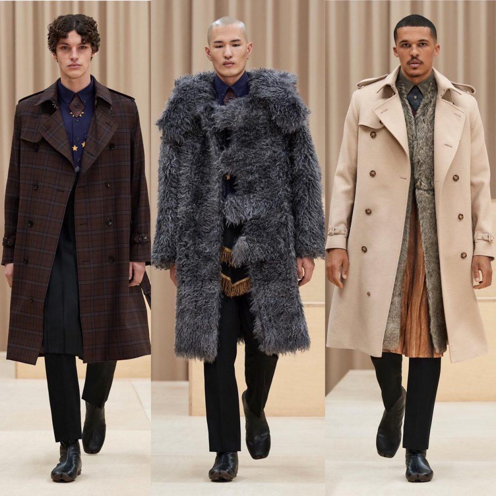 burberry apresenta coleção masculina na semana de moda de londres