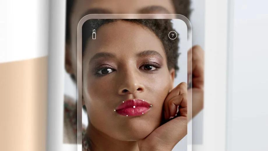 novo aplicativo chanel para escanear cores de batom, o chanel lipscanner
