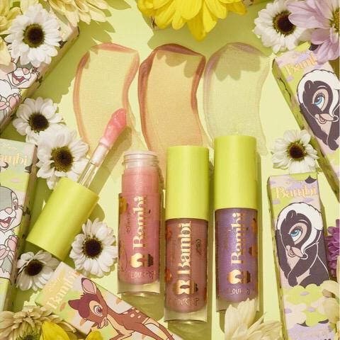 colourpop x disney lançam coleção de maquiagens inspiradas no Bambi