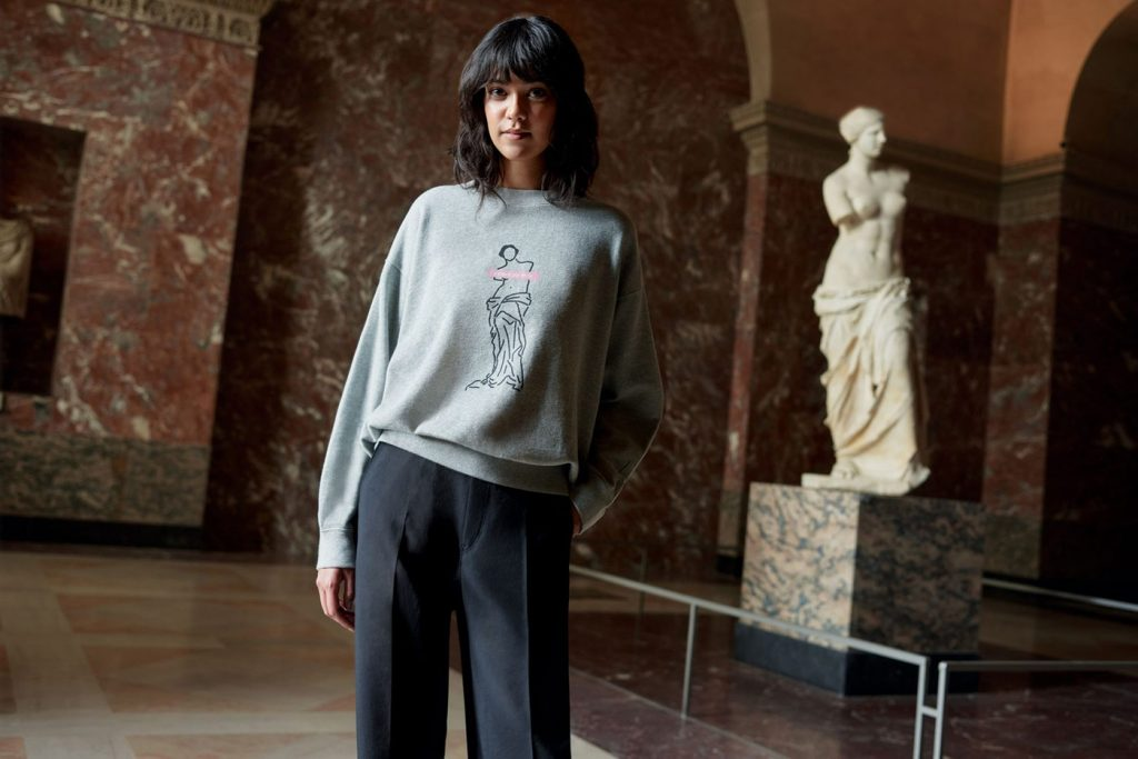 COLAB MUSEU DO LOUVRE E UNIQLO