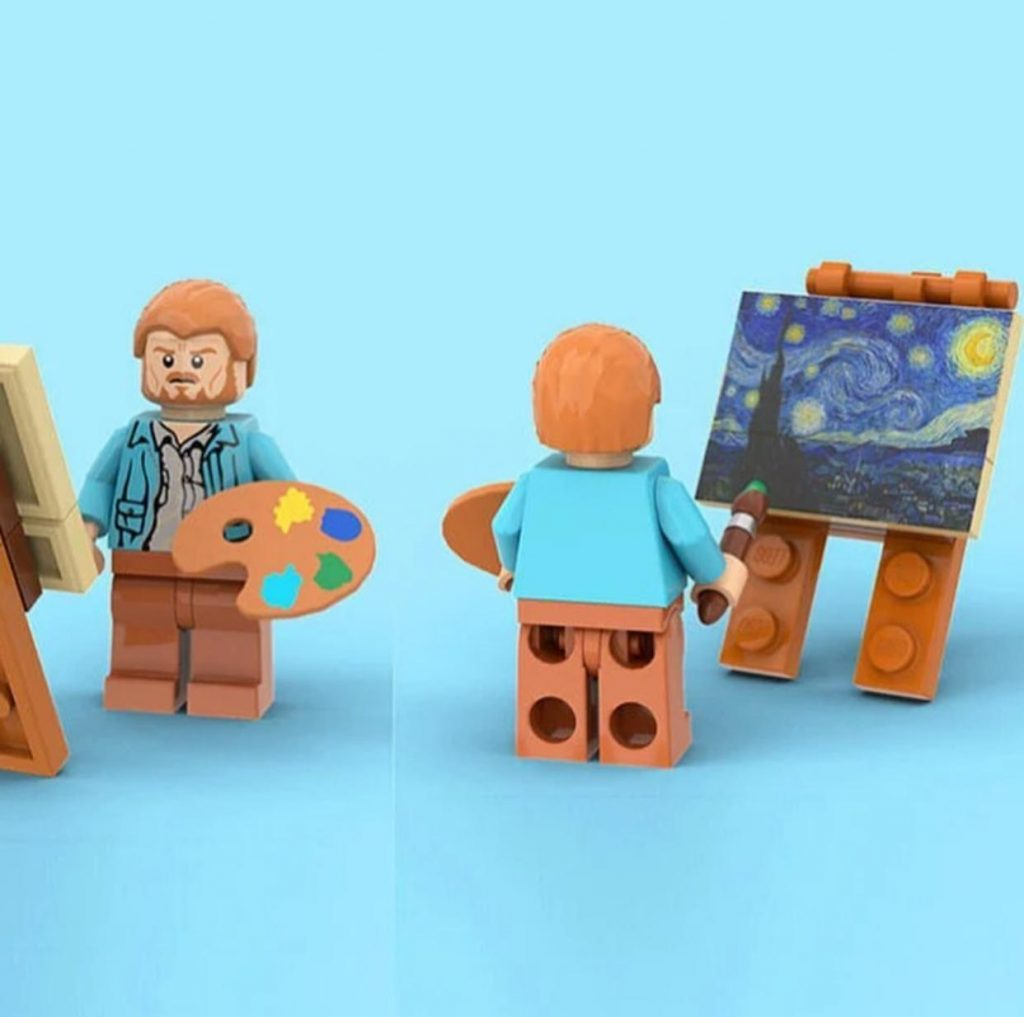 projeto criado por truman cheng, noite estrelada por Van Gogh