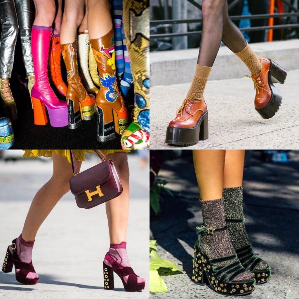 sandália, sapato e bota plataforma, matéria fabíola kassin