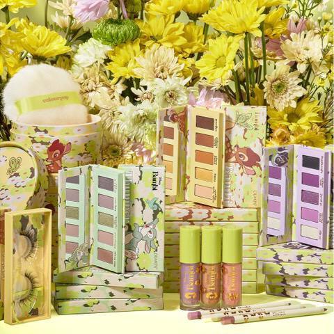 coleção de maquiagens colourpop x disney