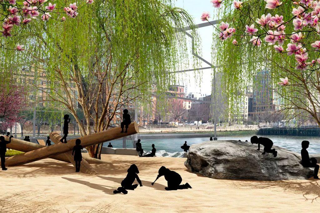 projeto de praia em ny deverá ter início de construção ainda esse ano