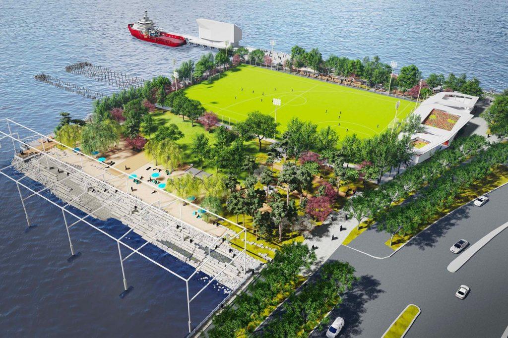 praia fake será construída em ny para 2023