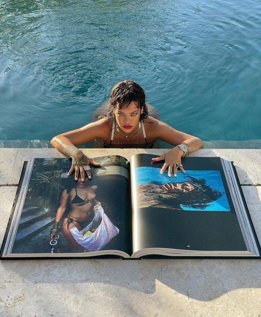 rihanna relança autobiografia em tamanho queen size
