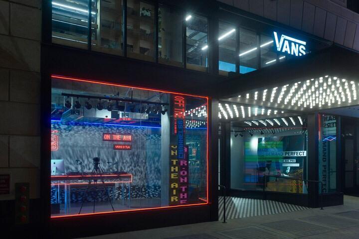 vans anuncia lançamento de canal de livestream, o channel 66