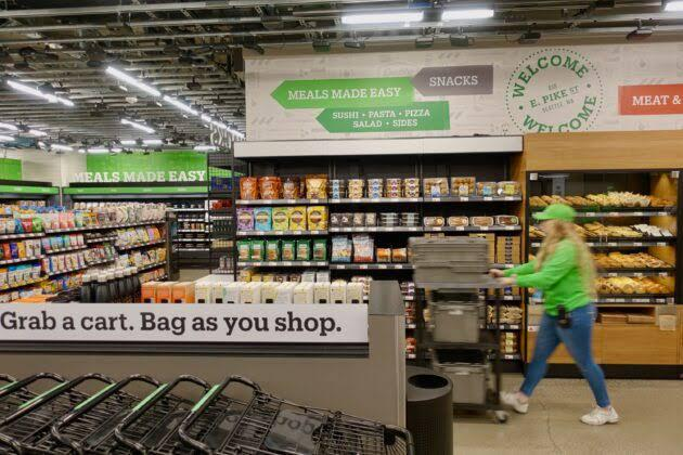 amazon go agora em londres como amazon fresh!