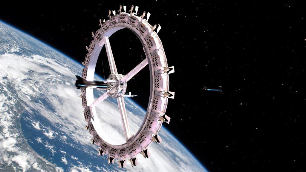 primeiro hotel espacial deverá ser construído em 2025