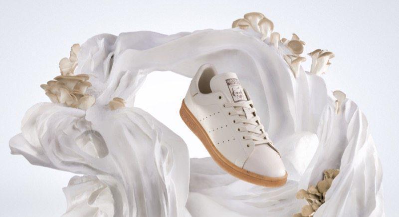 adidas está testando o uso de cogumelo em novo modelo do clássico Stan Smith