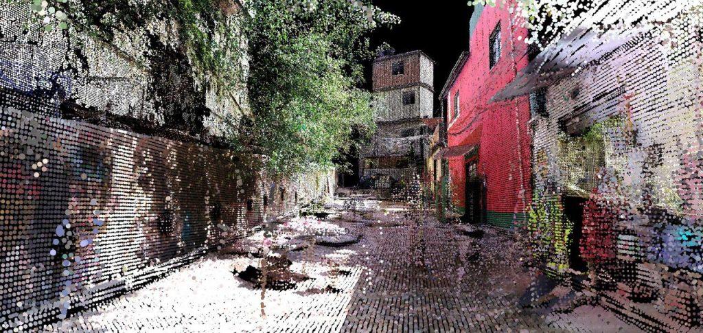 projeto de mapeamento em 4D para a favela da rocinha
