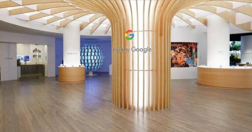 vem novidade do google por aí: marca anuncia sua primeira loja física, em NY!