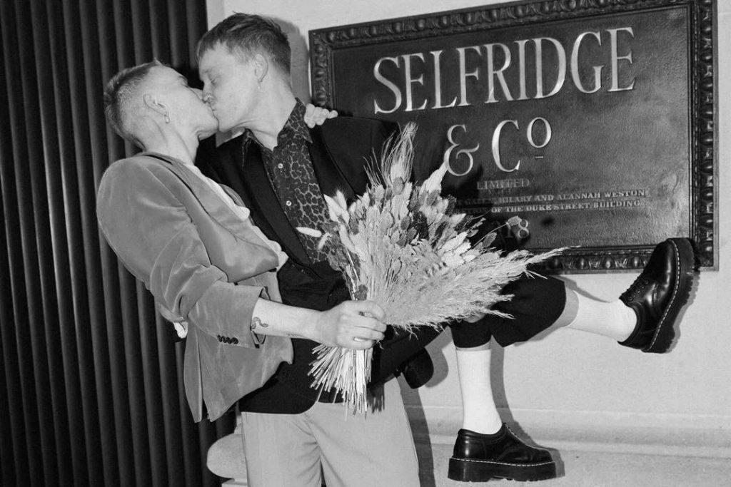 selfridges cria espaço para casamentos intimistas na loja
