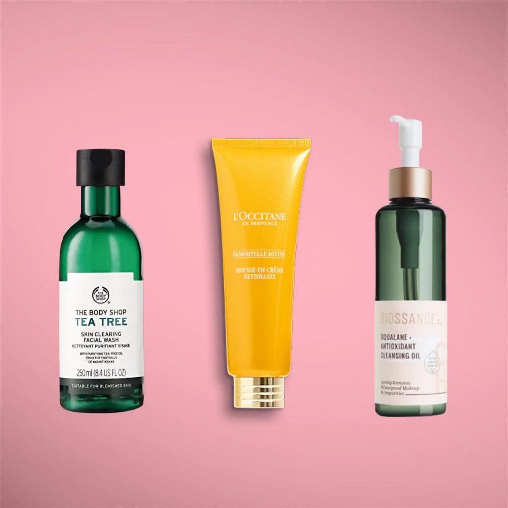 os melhores limpadores faciais para seu skincare