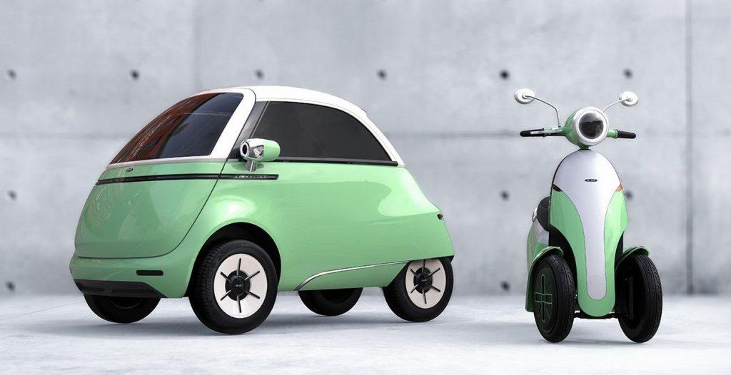 conheça o novo mini carro elétrico da micro!