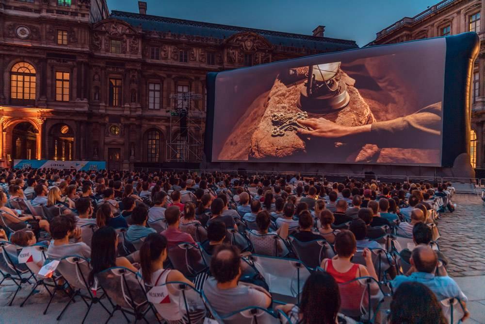 """festival francês de cinema """"cinema paradiso"""" está de volta no louvre"""